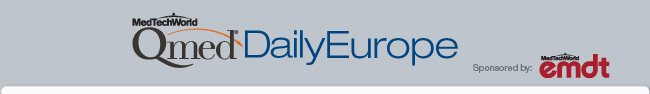 Qmed Daily Europe Sponsored by: emdt